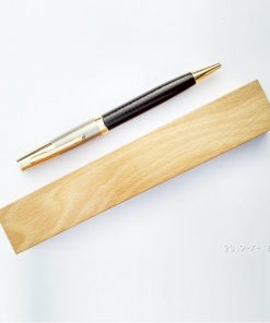 Metal Pen with Leather Grip Maya Digital www.mayang.in Personalised Pen