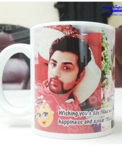 Personalized White Coffee Ceramic Mug Maya Digital Meerut Dehradun Noida