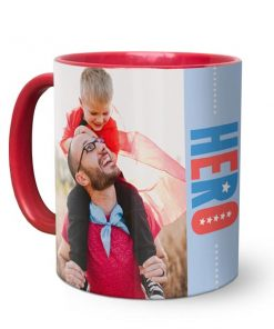 Photo Coffee Mug Red Maya Digital mayang.in