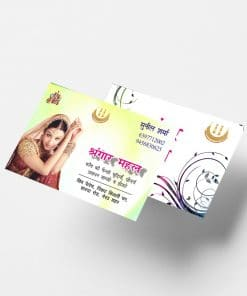 double sided spot uv business card online maya digital