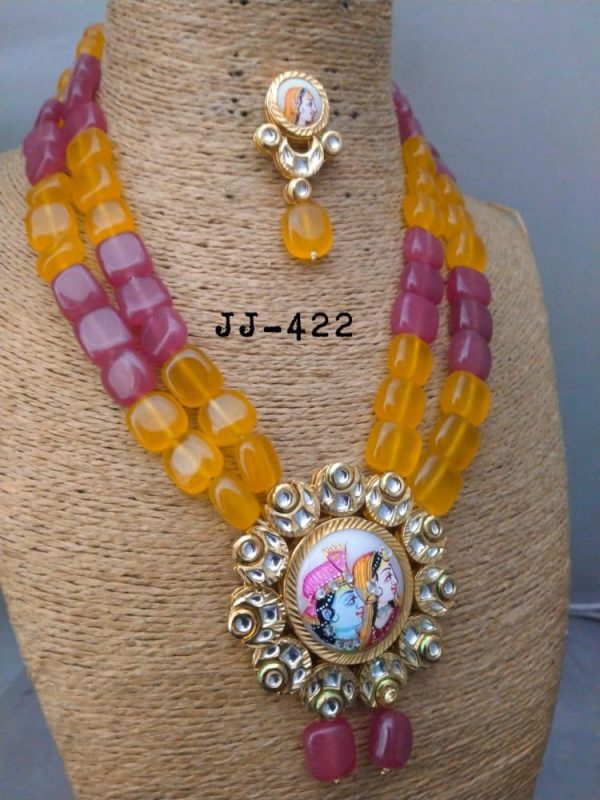 Maya Digital Beads Haar Artificial Jewellery