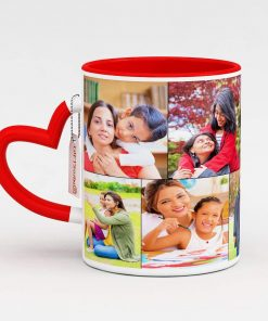 Maya Digital Blue Photo Mug for Couple Love in Meerut
